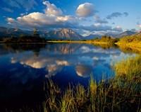 Maskinonge Lake, Wateron Lakes National Park, Alberta, Canada Fine Art Print