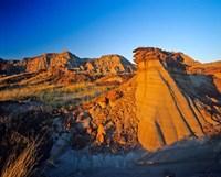 Badlands, Rocks, Dinosaur Provincial Park, Alberta Fine Art Print