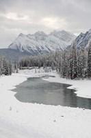 Icefields Parkway, Jasper National Park, Alberta, Canada Fine Art Print