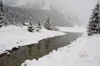Winter Views Around Lake Louise, Alberta, Canada Fine Art Print