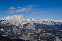 Alberta, Banff, River Valley, Sulphur Mountain by Cindy Miller Hopkins - various sizes