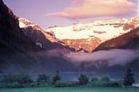 Lake Louise Morning, Banff National Park, Alberta, Canada Fine Art Print