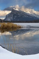 Mount Rundle, Vermillion Lake, Banff NP, Alberta Fine Art Print