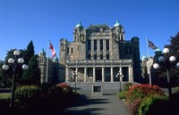 Parliament Building, Victoria, British Columbia by Bill Bachmann - various sizes