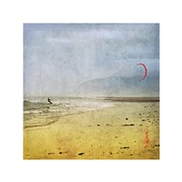 "The Kite Surfer by Pete Kelly - 8"" x 8"""