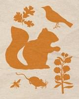 """Woodland Creatures II by Clara Wells - 8"""" x 10"""""""