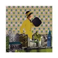 Vintage City I Fine Art Print