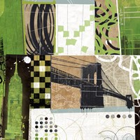 """Urban Abstract - Detail by Philip Brown - 28"""" x 28"""""""
