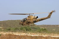 An AH-1S Tzefa attack helicopter of the Israeli Air Force by Ofer Zidon - various sizes - $30.49