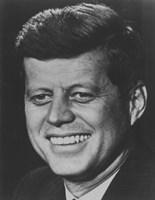 President John F Kennedy (digitally restored) by John Parrot - various sizes