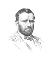 General Ulysses S Grant (vitage Civil War portrait) Fine Art Print