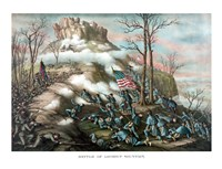 Battle of Lookout Mountain by John Parrot - various sizes, FulcrumGallery.com brand