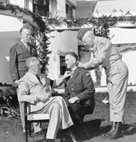 President Franklin Roosevelt Presenting the Medal of Honor by John Parrot - various sizes