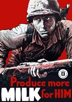 Produce More Milk for Him by John Parrot - various sizes