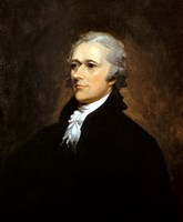 Founding Father Alexander Hamilton by John Parrot - various sizes, FulcrumGallery.com brand