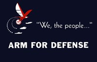We the People, Arm for Defense by John Parrot - various sizes