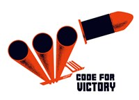 Code for Victory by John Parrot - various sizes, FulcrumGallery.com brand