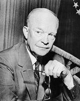 Dwight Eisenhower with Glasses by John Parrot - various sizes