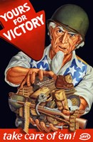Yours For Victory by John Parrot - various sizes