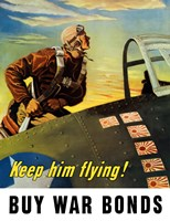 Keep Him Flying by John Parrot - various sizes