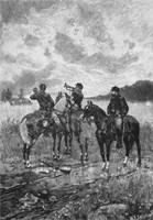 Three Civil War Soldiers onHorseback by John Parrot - various sizes