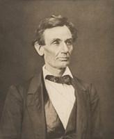 President Abraham Lincoln (Vintage Civil War Photo) Fine Art Print