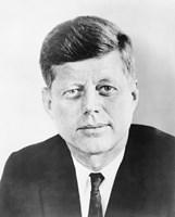 President John F Kennedy (vintage photo) by John Parrot - various sizes, FulcrumGallery.com brand