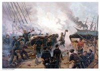 Battle of Cherbourg by John Parrot - various sizes