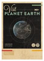 Visit Planet Earth Fine Art Print