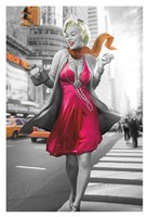 Marilyn in the City Fine Art Print