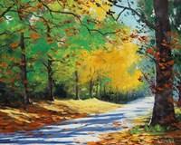 Vibrant Autumn Fine Art Print