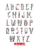 Alphabite Fine Art Print