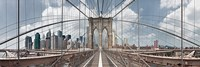 "Brooklyn Bridge by Shelley Lake - 36"" x 12"""