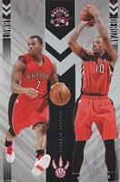 """Toronto Raptors - Duo 15 - 22"""" x 34"""""""