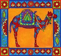 Mosaic Camel by Christine Kerrick - various sizes - $35.49