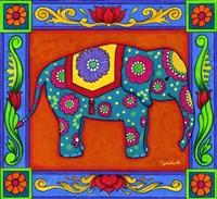 Mosaic Elephant by Christine Kerrick - various sizes - $34.49