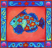 Mosaic Fish by Christine Kerrick - various sizes - $32.99