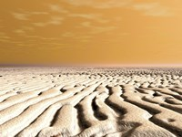 A Spring Sunrise Over the Surface of Mars' South Pole by Walter Myers - various sizes