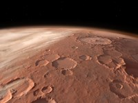 Heavily Cratered Highlands on the Surface of Mars by Walter Myers - various sizes