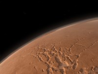 Mars' Valles Marineris is Host to the Largest Canyons in the Solar System Fine Art Print