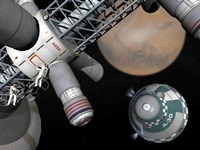 Artist's Concept of a Future Space Exploration Mission by Walter Myers - various sizes