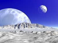 Artist's concept of an Alien Planetary System by Walter Myers - various sizes