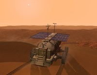 Artist's Concept of a Martian Rover by Walter Myers - various sizes