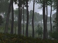 A Forest of Cordaites and Araucaria by Walter Myers - various sizes