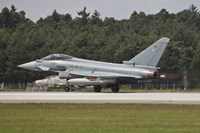 Eurofighter Typhoon of the German Air Force Taking Off Fine Art Print