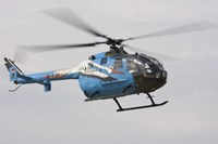 A Bolkow Bo-105 Liaison Helicopter of the German Army by Timm Ziegenthaler - various sizes