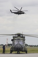 A German Army NH90 and its Predecessor, the CH-53 Sea Stallion by Timm Ziegenthaler - various sizes