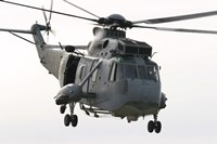 An SH-3D Sea King Helicopter of the Spanish Navy Fine Art Print