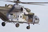 Czech Air Force Mi-171 Fine Art Print