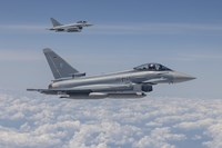 German Eurofighter Typhoon Jets by Timm Ziegenthaler - various sizes - $30.49